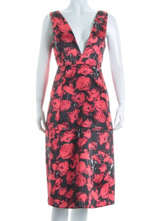 Gina Tricot A-Linien Kleid florales Muster Romantik-Look