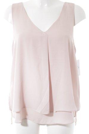 Gina Tricot ärmellose Bluse rosa Elegant