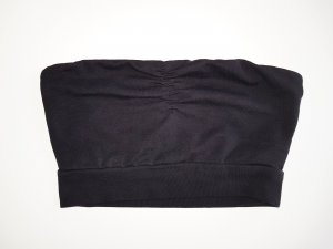 Gina Tricot Bandeau Top in schwarz XS