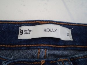 Gina Tricot blaue Super Skinny High Waisted Jeans (Molly) s /36