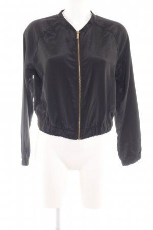 Gina Tricot Blouson schwarz Casual-Look