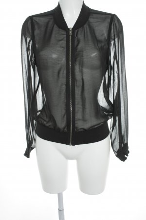 Gina Tricot Blouse Jacket black simple style