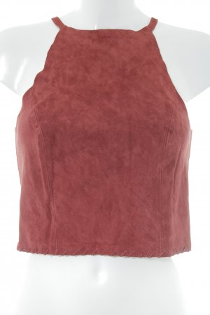 Gina Tricot Camisole dunkelrot Casual-Look