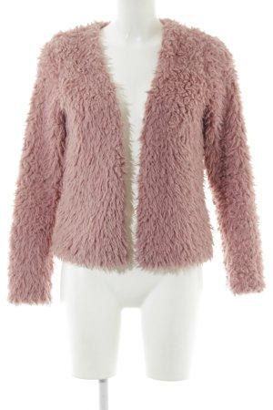 Gina Tricot Giacca di pelliccia rosa soffice