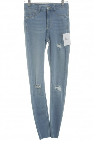 "Gina Tricot High Waist Jeans ""Molly Destroyed"" himmelblau"