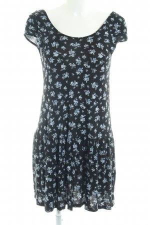 Gina Tricot Jerseykleid Blumenmuster Casual-Look