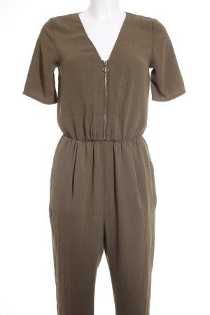Gina Tricot Jumpsuit khaki-goldfarben Casual-Look