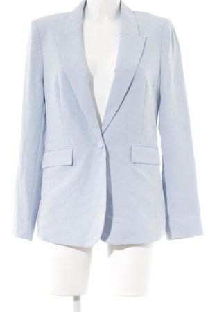 Gina Tricot Kurz-Blazer himmelblau 50ies-Stil