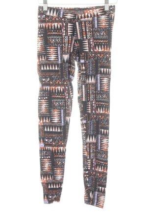 Gina Tricot Leggings estampado con diseño abstracto look casual