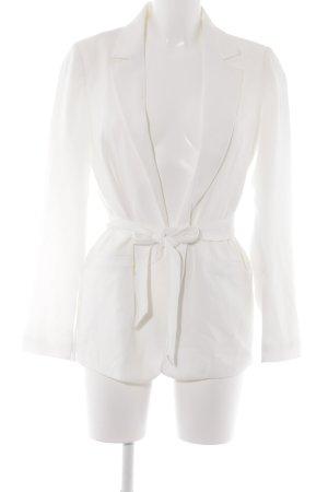 Gina Tricot Long-Blazer weiß Elegant