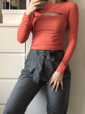 Gina tricot Longe sleeve apricot