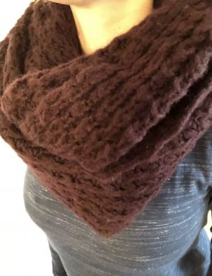 Gina Tricot Tube Scarf bordeaux