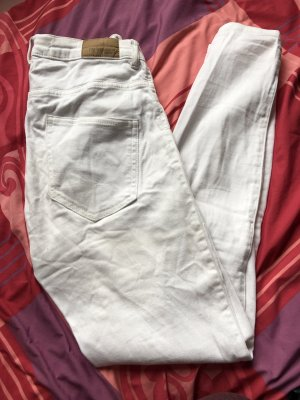 Gina Tricot Molly High Waist Jeans Weiß