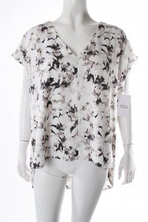 Gina Tricot Oversized Bluse Blumenmuster