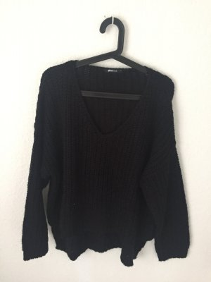 Gina Tricot oversized Pullover schwarz