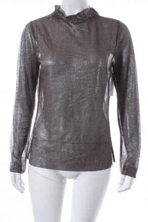 Gina Tricot Turtleneck Shirt multicolored glittery