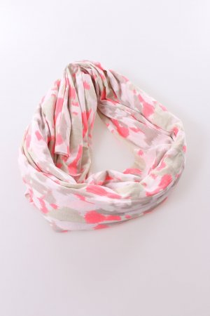 Gina Tricot Tube Scarf multicolored cotton