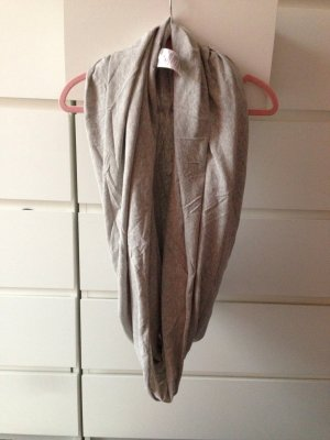 Gina Tricot Tube Scarf grey cotton