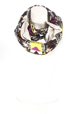 Gina Tricot Tube Scarf mixed pattern Aztec print
