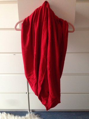 Gina Tricot Tube Scarf red