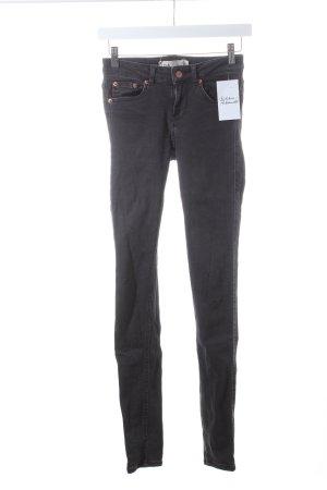 Gina Tricot Skinny Jeans dunkelgrau Casual-Look