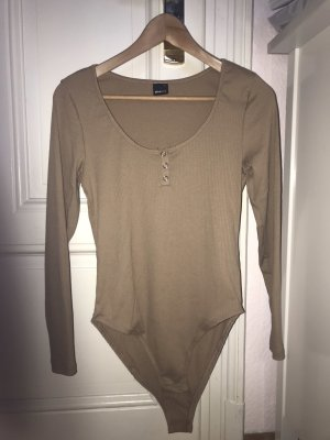 Gina Tricot Shirt Body beige-camel