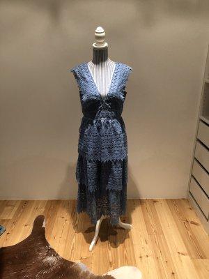 Gina Tricot Lace Dress cornflower blue