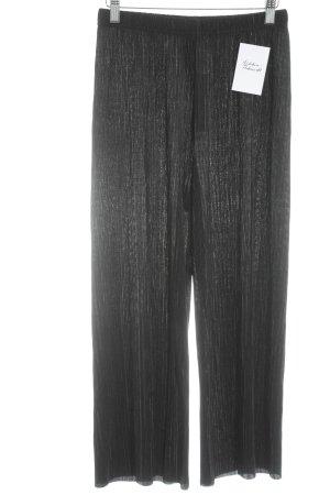 Gina Tricot Stoffhose schwarz klassischer Stil