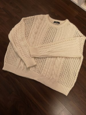 Gina Tricot Strick-Pullover – Cremeweiß
