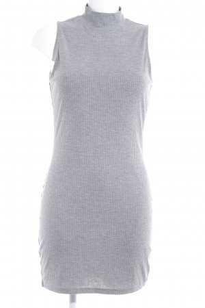 Gina Tricot Strickkleid grau Casual-Look