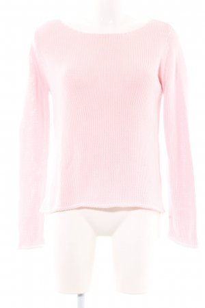 Gina Tricot Strickpullover pink Casual-Look