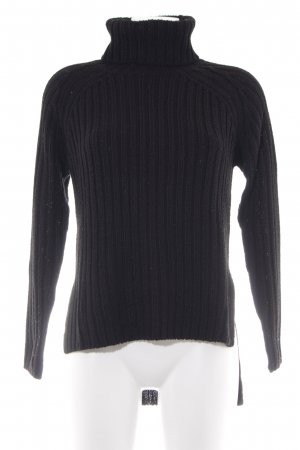 Gina Tricot Strickpullover schwarz Casual-Look