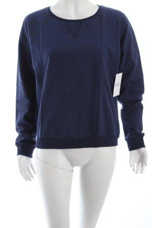 Gina Tricot Sweatshirt bleu foncé style décontracté