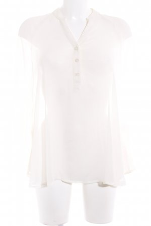 "Gina Tricot Transparenz-Bluse ""Britney Party Blouse"" creme"