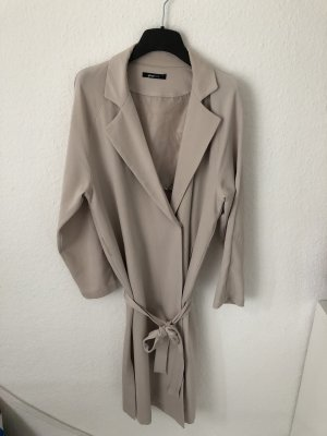 Gina Tricot Trench Coat cream-oatmeal