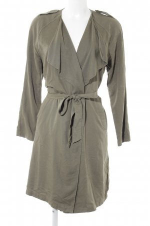 Gina Tricot Trenchcoat grüngrau Casual-Look