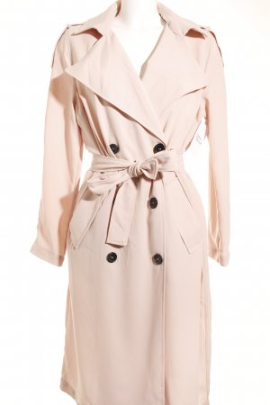 Gina Tricot Trenchcoat rosé klassischer Stil