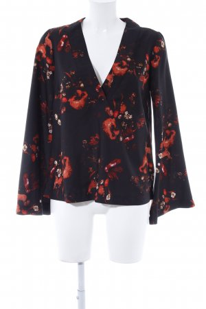 Gina Tricot Tunikabluse florales Muster Casual-Look
