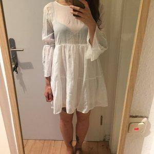 Gina Tricot weißes Kleid Tunika Neu