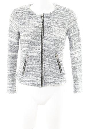 Gina Tricot Wolljacke wollweiß-grau schlichter Stil