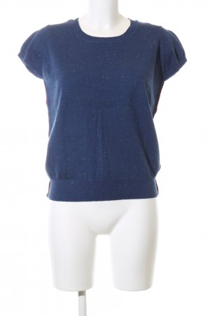 Ginger & soul Gebreid shirt blauw casual uitstraling