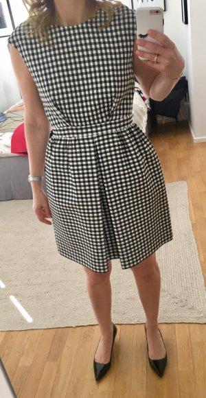 Zara Basic Mini-jurk zwart-wit