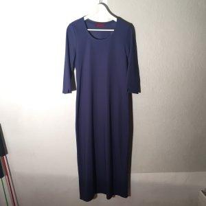 Vestido de tubo azul acero Poliéster