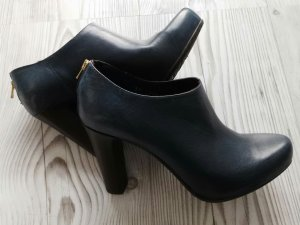 Gino Rossi Ankle Boots dark blue-steel blue leather