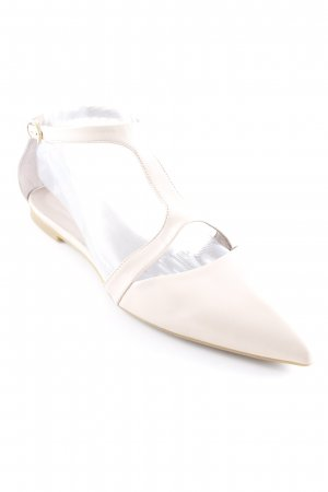 Gino Rossi Mary Jane ballerina's nude elegant