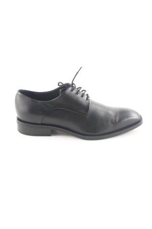 Gino Rossi Zapatos estilo Oxford negro estilo «business»