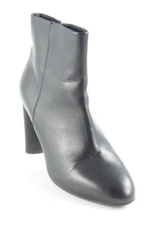 Gino Rossi Reißverschluss-Stiefeletten schwarz Casual-Look