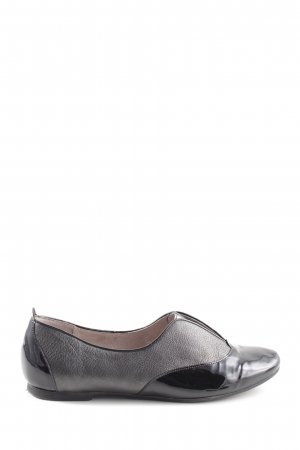 Gino Rossi Slip-on Shoes black-silver-colored casual look