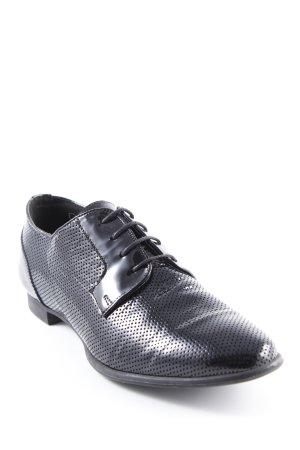 Gino Rossi Schnürschuhe schwarz Elegant