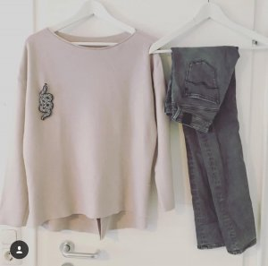 Gioia Pullover rosa S M Top Herbst Pulli